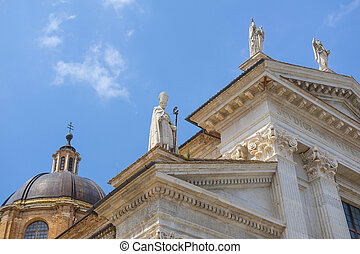 City Cathedral in Urbino