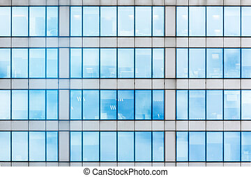 Glass facade texture  Stock Photographs of Glass curtain wall of a modern architecture ...