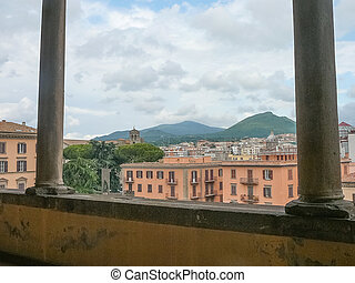 View of the city of Viterbo, Italy