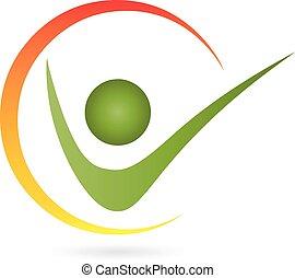 Logo, Mensch, Person, Kreis