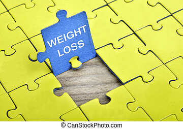Puzzle with word Weight Loss