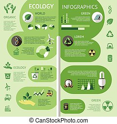Ecology Colored Infographic
