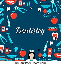 Dentistry and dental treatments banner