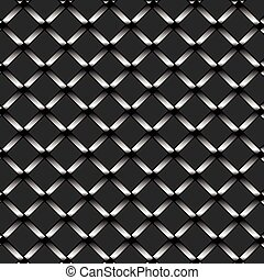 Abstract chrome metal texture isolated