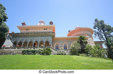 Monserrate Palace in Sintra, Portugal - The arabesque...