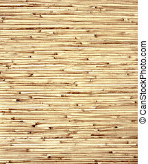 Bamboo mat - Texture - bamboo mat of brown color