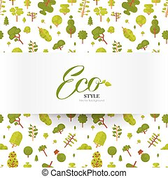 illustration of banner or strip paper with lettering on...