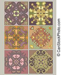 Tiles set