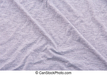 Wrinkle bedsheet fabric - Close up of beautiful wrinkle grey...