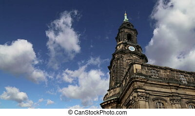 Hofkirche--church in Dresden - Hofkirche or Cathedral of...