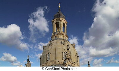 The Dresden Frauenkirche ( literally Church of Our Lady) is...