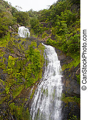 Stoney Creek Falls - The famous Stoney Creek Falls seen from...