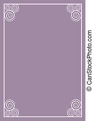 pink frame cover
