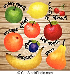 Aqurel Fruit Collection - Aqurel fruit collection with...