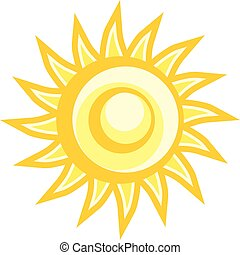 imaginative sun illustration - Creative design of...