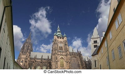 St Vitus Cathedral in Prague - St Vitus Cathedral Roman...