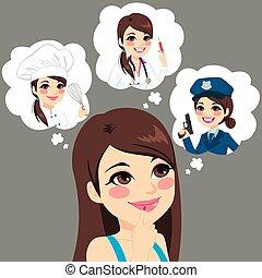 Girl Career Choice