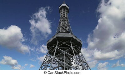 Petrin Lookout Tower, Prague - Petrin Lookout Tower 1892,...