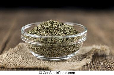secado, Stevia, hojas, (selective, focus)