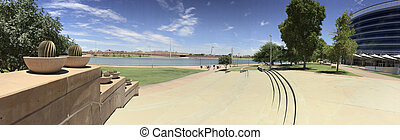 Salt Lake River Embankment, Tempe, AZ - Customized in...