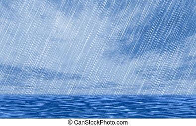 rain storm backgrounds in cloudy weather - rain storm...