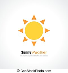 Yellow sun logo - Yellow sun vector logo