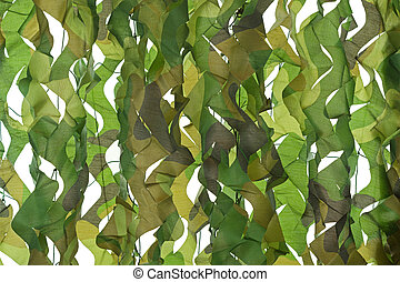 Camouflage pattern net for hiding, disguising Detailed...