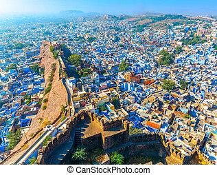 Jodhpur - Blue City Rajasthan, India - Jodhpur, the Blue...