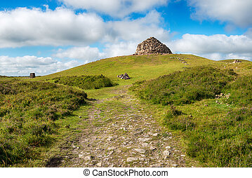 Dunkery Beacon on Exmoor - DUnkery Beacon, the highest point...