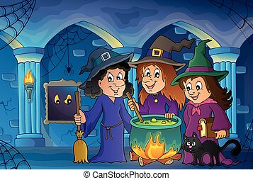 Three witches theme