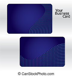 Business cards, part 6, vector illustration