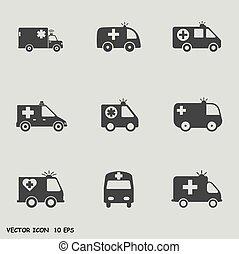 Ambulance icos set