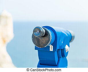 Spyglass for viewing tourists attractions Santa Barbara...