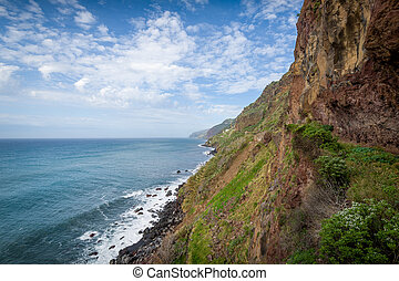 Madeira island south shore rocks - Madeira south shore rocks...