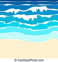 ocean with waves
