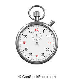 Stopwatch Timer Isolated - Stopwatch Timer isolated on white...