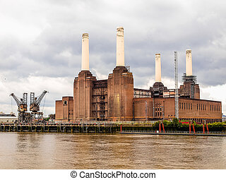 Battersea Powerstation London HDR - High dynamic range HDR...