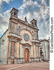 Guardiagrele, Chieti, Abruzzo, Italy: church of Santa Maria...