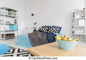 Have a morning taste of fruit freshness - Roomy bedroom in a...