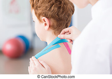 Benefits of kinesiology tape for children