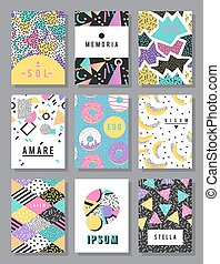 Abstract layout design vector - Abstract layout design...