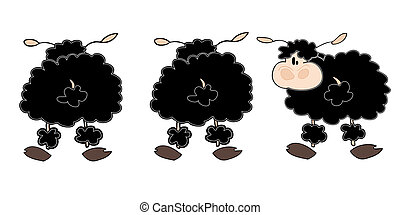 Black sheep group.
