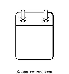 blank notepad icon