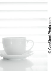 White Coffee Cup Food Background