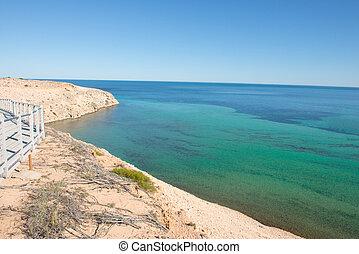 Scenic Eagle Bluff Shark Bay Western Australia - Scenic...
