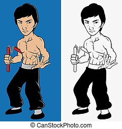 Martial art master - Illustration of martial art marter