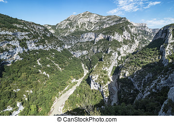 Verdon Canyon in France
