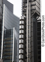 Lloyds of London and Willis Building in London, UK