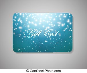 Beautiful Gift Card Vector Illustration - Beautiful Gift...