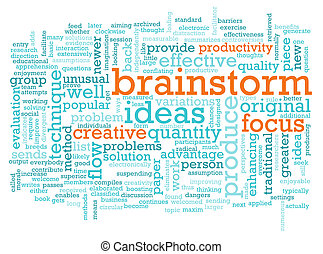 Brainstorm - A Brainstorm Session Concept as a Abstract